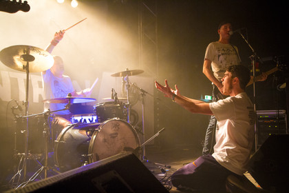 Support von Itchy Poopzkid - Fotos: Montreal live im beatpol in Dresden